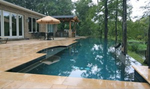 pool deck materials and options in jacksonville fl