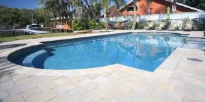 Pool deck materials swimming pool deck options in for Pool design jacksonville fl