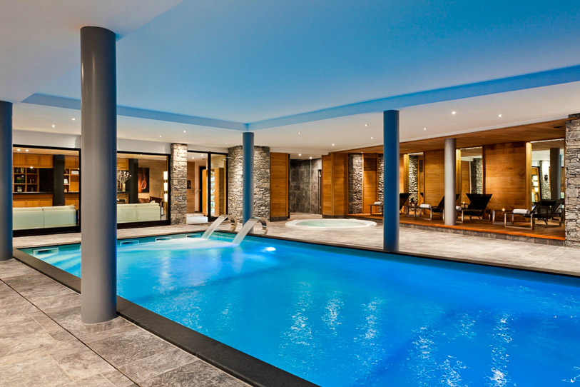 Architecture And Construction Of Indoor Swimming Pools